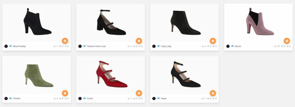 roccamore shoe list 3d