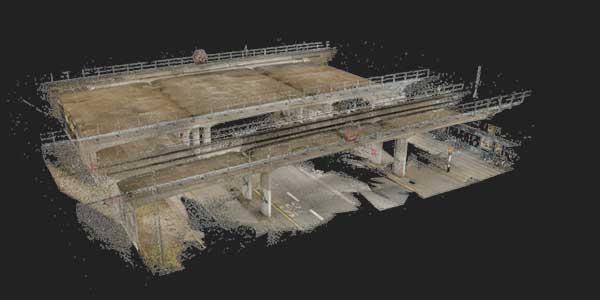 sjaelor station 3d scan